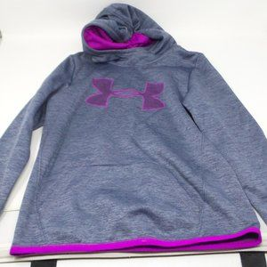 Under Armour Girls Armour Fleece Logo Hoodie